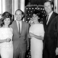 Jayn and Art Marshall, Estelle and Herb Rousso