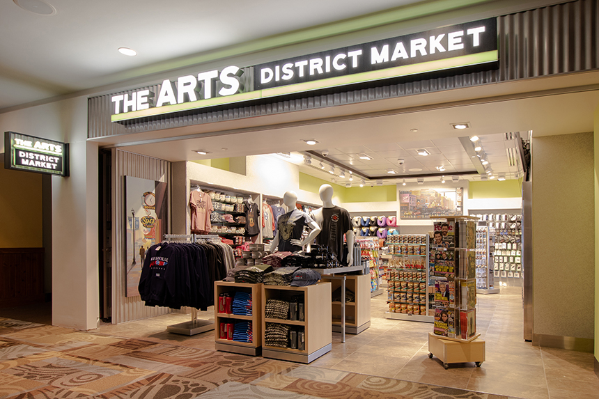 The Arts District Market store in Terminal A